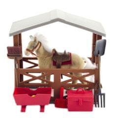 Teddies Kůň fliška se stájí a doplňky