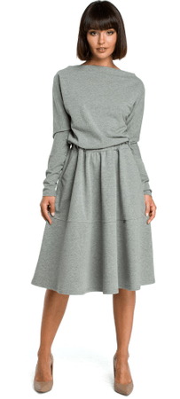 21c34e07fd BeWear női ruha L szürke | MALL.HU