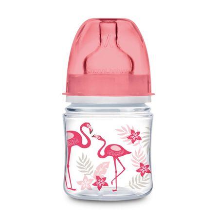 Canpol babies JUNGLE széles szájú üveg 120 ml, rózsaszín