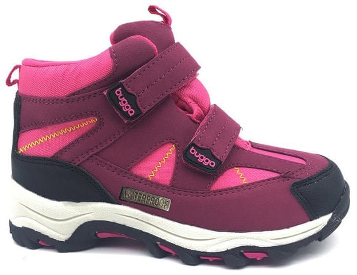 Bugga dívčí zimní boty 33 růžová