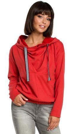 74102a53491 BeWear dámská mikina XL červená