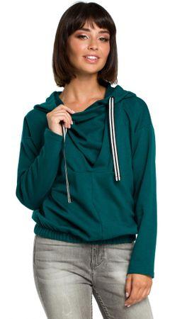 067a3f5157e BeWear dámská mikina M zelená