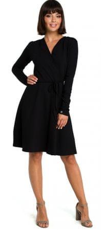 4070fbdb3fa7 BeWear dámské šaty M čierna