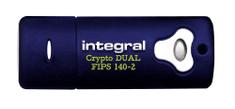 Integral varen USB ključ Crypto Dual FIPS 140-2, 16 GB