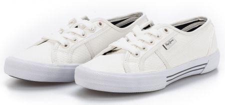 Pepe Jeans dámské tenisky Aberlady Flaky 37 biela  66757557034