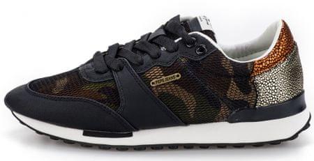 Pepe Jeans dámské tenisky Bimba Camouflage 36 čierna