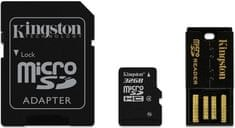 Kingston Micro Secure Digital (microSD) kartica 32 GB + SD adapter (MBLY4G2/32GB)