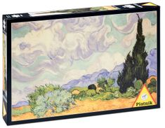 Piatnik Van Gogh - Pšeničné pole s cypřiši