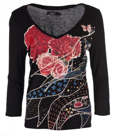 Desigual ženska majica Keppary, S, črna