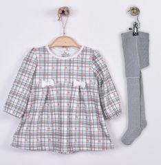 Kitikate dívčí šaty Active s mašličkami