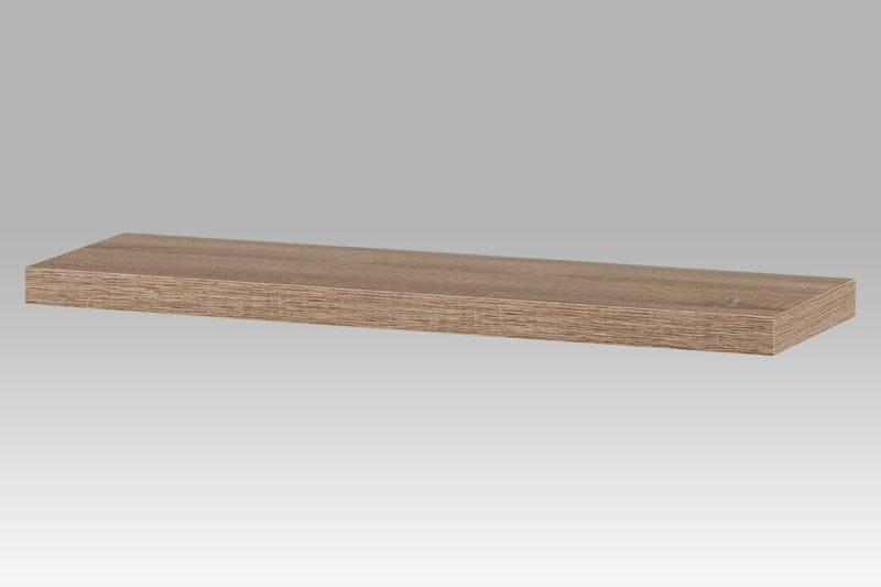 Nástěnná polička PP-005 SON1, 80cm, barva dub sonoma
