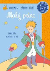 Malý princ - kniha aktivit - oranžové samolepky