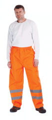 Cerva Reflexné pracovné nohavice Gordon pánske oranžová L