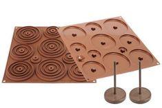 Silikomart Silikonová forma na čokoládu – 3D kraslice