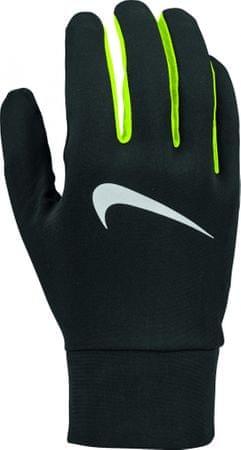 Nike Men'S Lightweight Tech Running Gloves Black/Volt/Silver XL
