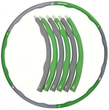 Tunturi obteženi hula hoop obroč, 1,5 kg