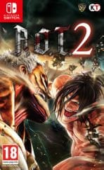 Tecmo Koei igra Attack On Titan 2 (Switch)