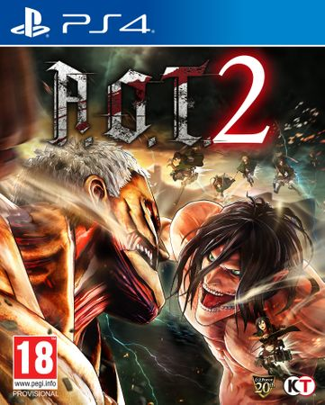 Tecmo Koei igra Attack On Titan 2 (PS4)
