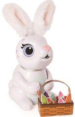 Spin Master Zoomer Hladový králíček - bílý