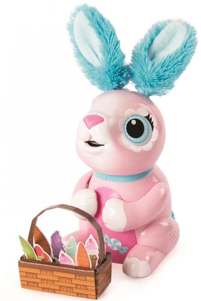 Spin Master Zoomer Hladový králíček - růžový