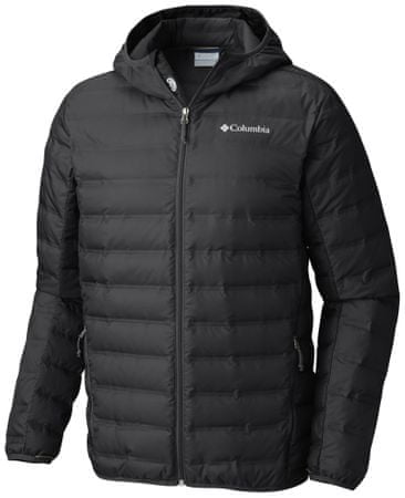 1e397045792 Columbia Lake 22 Down Hooded Jacket Black M