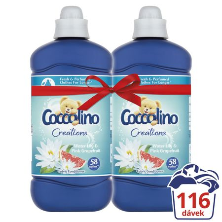 Coccolino Creations Water Lily & Pink Grapefruit 2x 1,45 l