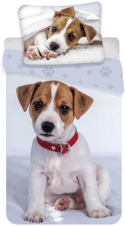 Jerry Fabrics posteljnina s potiskom psa 03