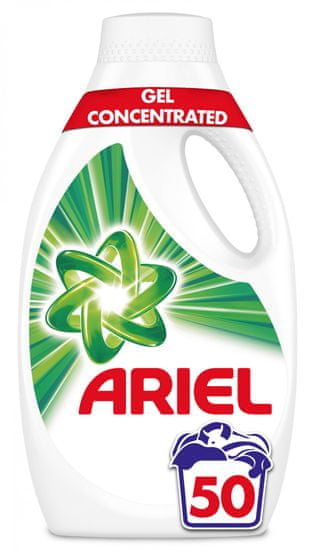Ariel Mountain Spring tekutý prací prostředek 2,75 l (50 praní)