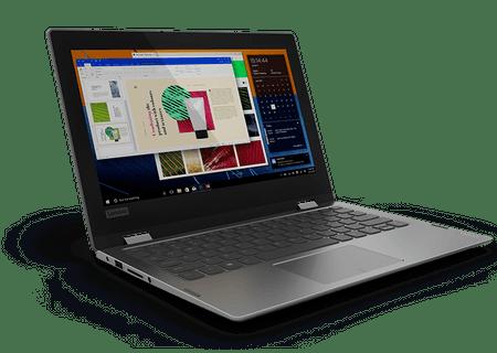 Lenovo prenosnik Yoga 330 N4000/4GB/eMMC64GB/11,6HD/W10H (81A6004MSC)