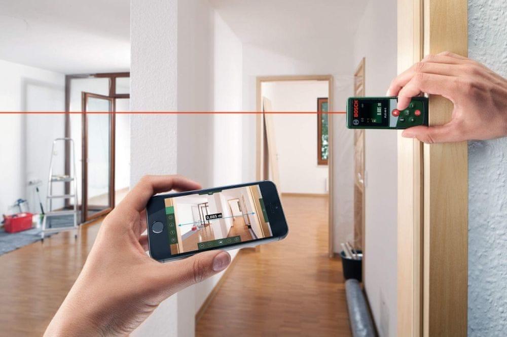 Bosch laserový měřič PLR40C 0603672320