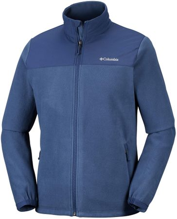 COLUMBIA Bluza męska Fast Trek Novelty Full Zip Fleece Collegiate Navy XL