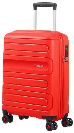 American Tourister walizka podróżna Sunside 55 cm czerwona