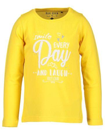 Blue Seven chlapecké tričko s nápisem 98 žlutá