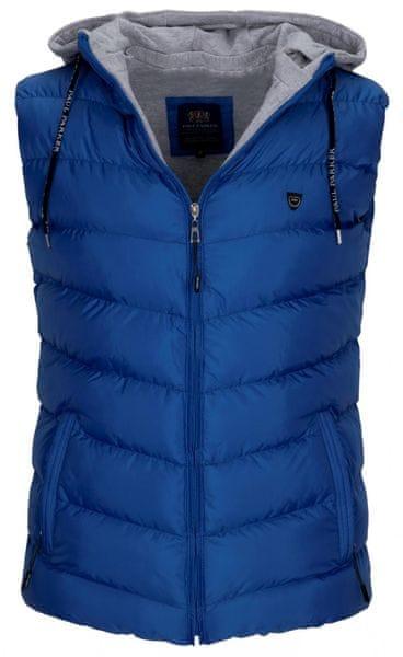 Paul Parker pánská vesta XXL modrá