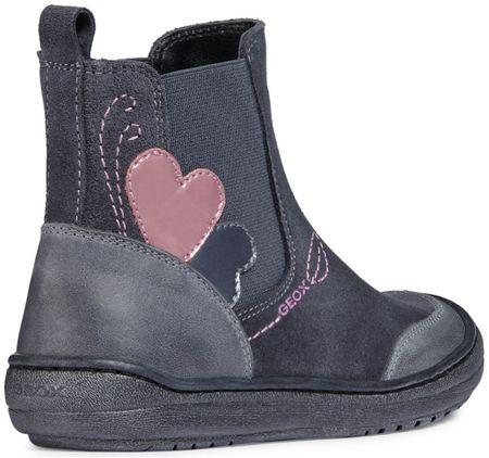 Geox dívčí kotníčkové boty Hadriel 31 sivá  dc4572b687
