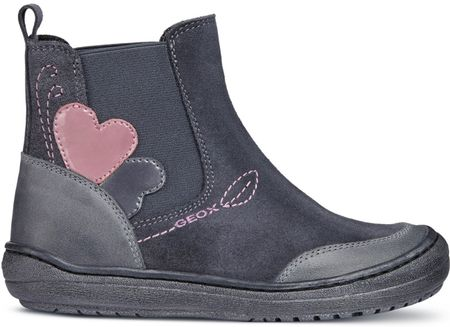 Geox dívčí kotníčkové boty Hadriel 33 šedá  f3cde4d74e