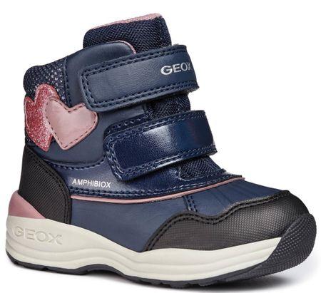 b4aab1fd3ff Geox dívčí zimní boty New Gulp 27 modrá