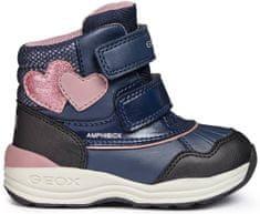 Geox dekliški zimski škornji New Gulp