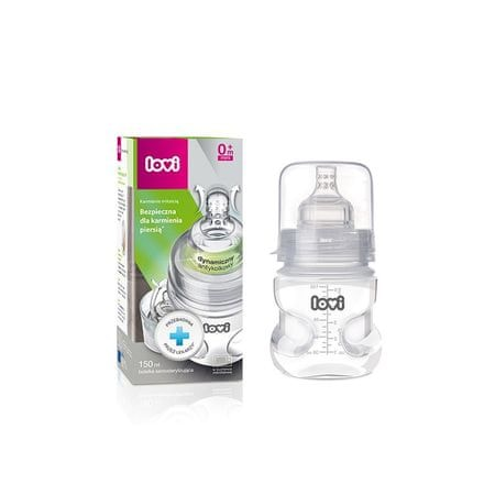 LOVI Önsterilizáló palack Szuper nyílás 150ml