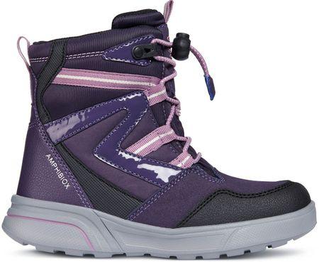 Geox buty zimowe dziewczęce Sveggen 28 fioletowe