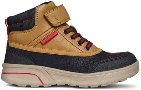 Geox buty zimowe chłopięce Sveggen 33 brązowe