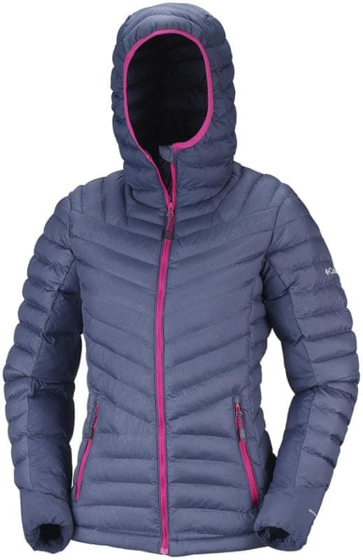 ... 3 - COLUMBIA Windgates Hooded Jacket Nocturnal Heather XS ff5af5ab00