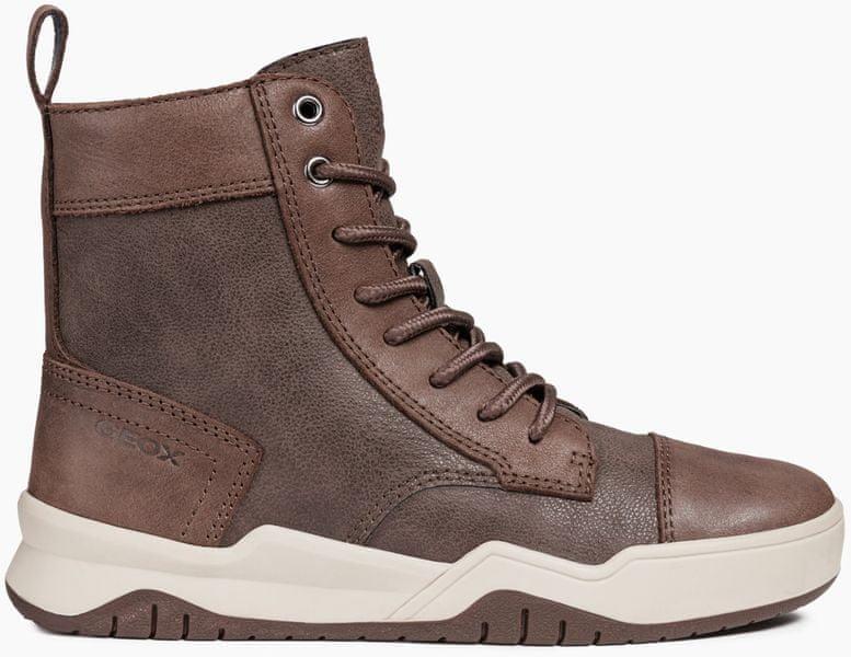 Geox chlapecké kotníčkové boty Perth 33 hnědá dcc6dc67e3