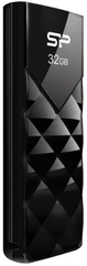 Silicon Power USB ključ Ultima U03 32GB, USB 2.0, črn
