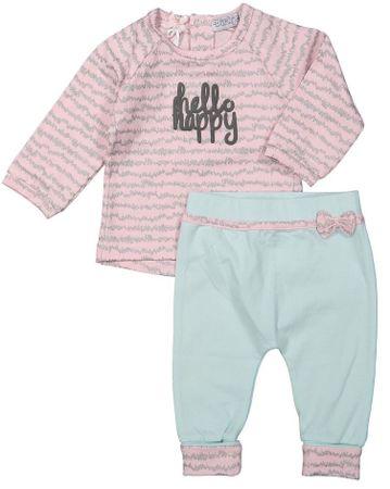 Dirkje dívčí kojenecký set Hello Happy 62 růžová  e9ab356427