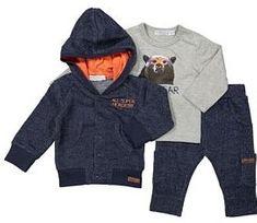 Dirkje chlapecký kojenecký set s medvědem