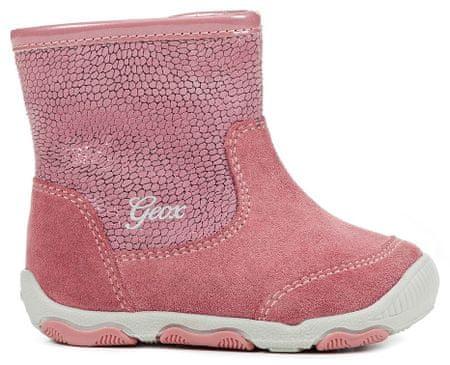 727ee44dd67 Geox dívčí kotníčkové boty New Balu 21 růžová