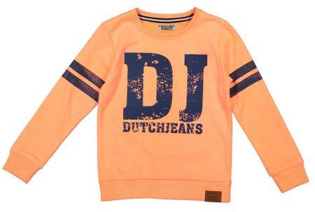 Dirkje chlapecká mikina DJ 98 oranžová