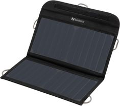 Sandberg Solar Charger 13W 2xUSB, solární nabíječka, černá 420-40