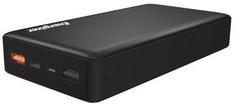 Energizer 20000mAh Quick Charge 3.0 PowerBank, podwójne wejście typu C, podwójne wyjście USB-C + 2xUSB-A, černý UE20015CQ